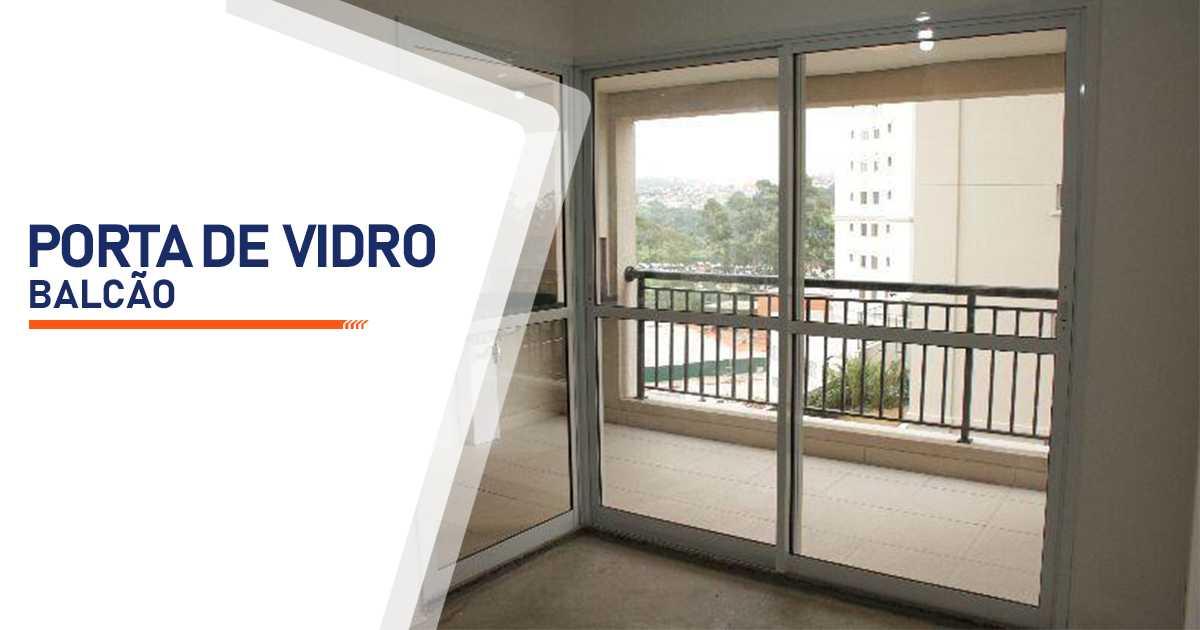 Porta Balcão De Vidro