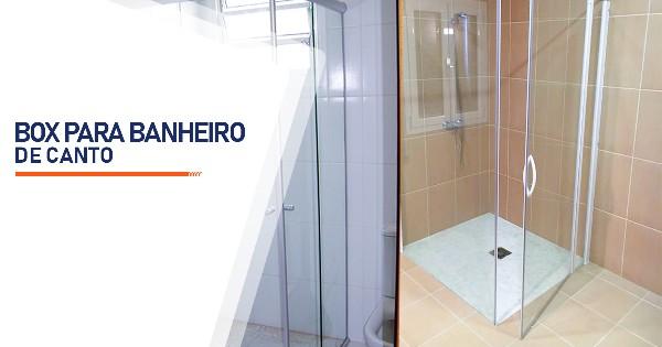 Box para Banheiro de Canto Araçoiaba da Serra