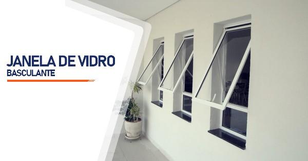 Janela De Vidro Basculante Alambari