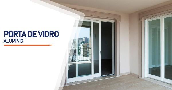 Porta De Vidro Aluminio Sorocaba