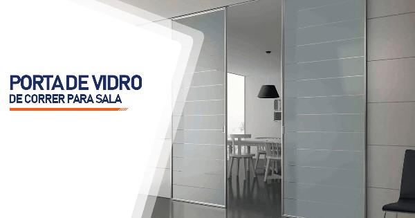 Porta De Vidro De Correr Para Sala Sorocaba
