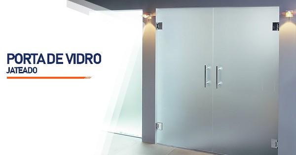 Porta De Vidro Jateado Sorocaba