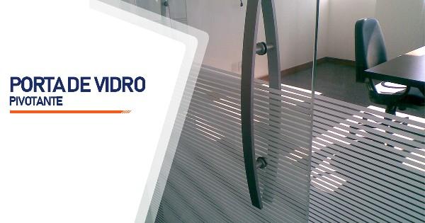 Porta Pivotante De Vidro Sorocaba