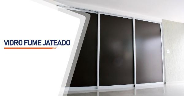 Vidro Fume Jateado Sorocaba