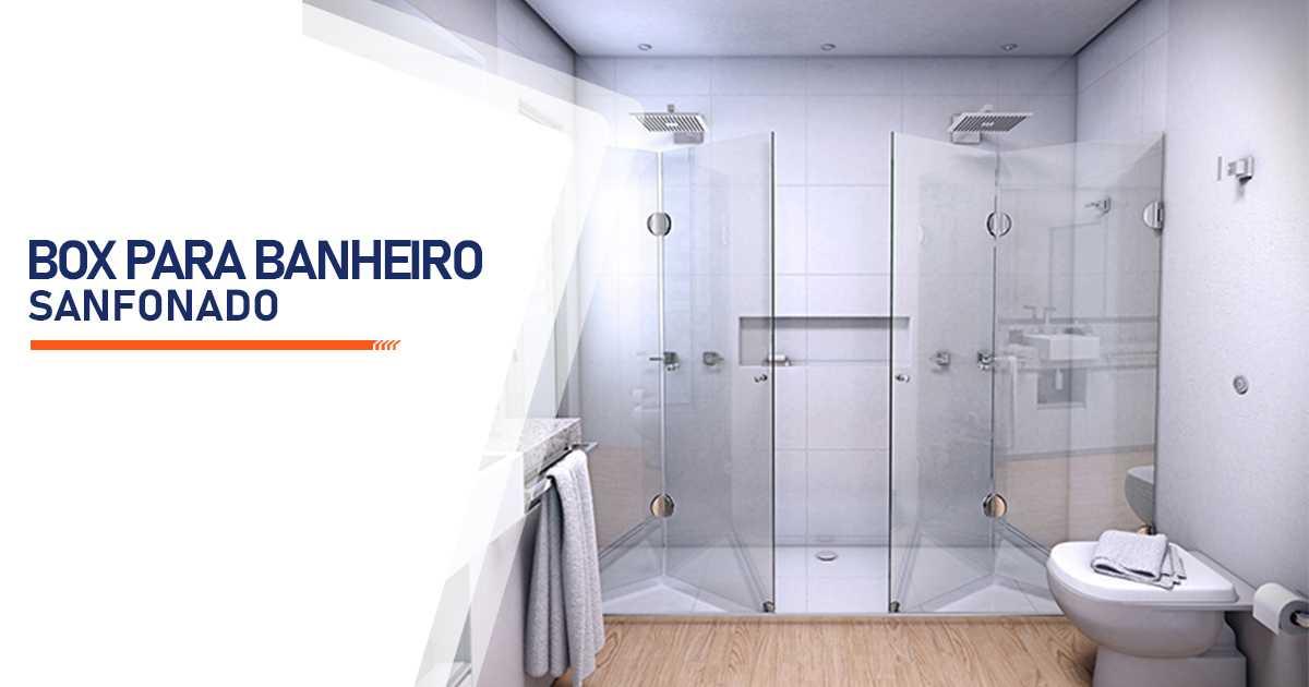 Box para Banheiro Sanfonado Alambari