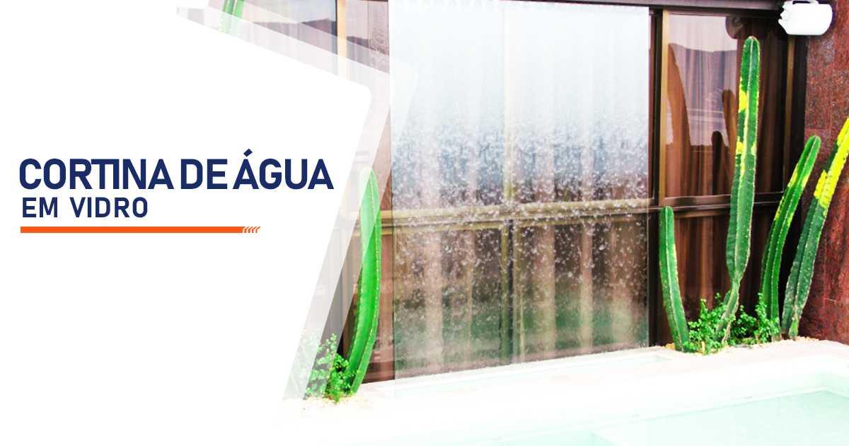 Cortina de Agua em Vidro Sorocaba